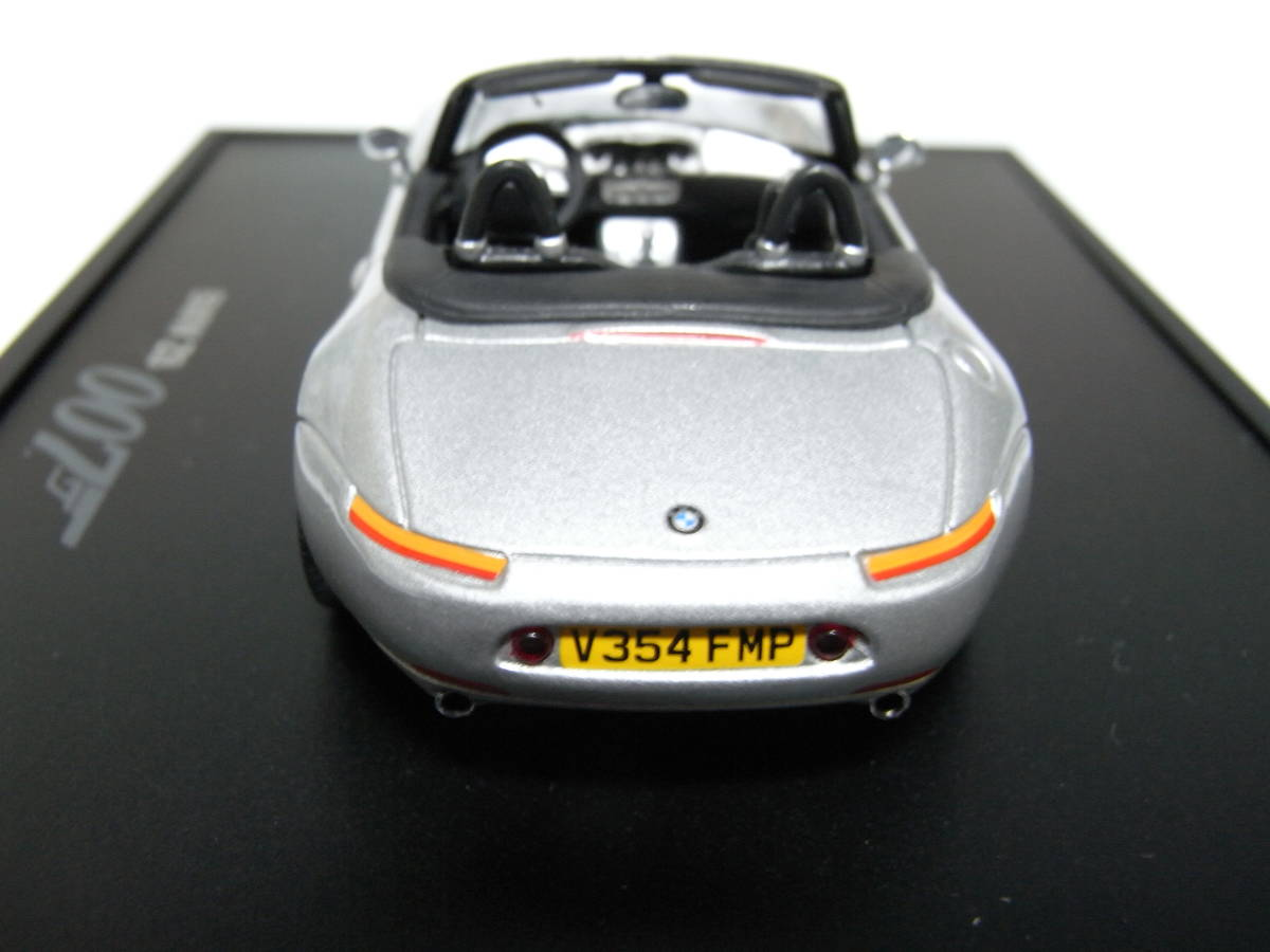 【BMW別注】 1/43 MINICHAMPS BMW Z8 James Bond Edition 1999 ジェームズボンド 007 The World Is Not Enough 007 ミニチャンプス_画像5
