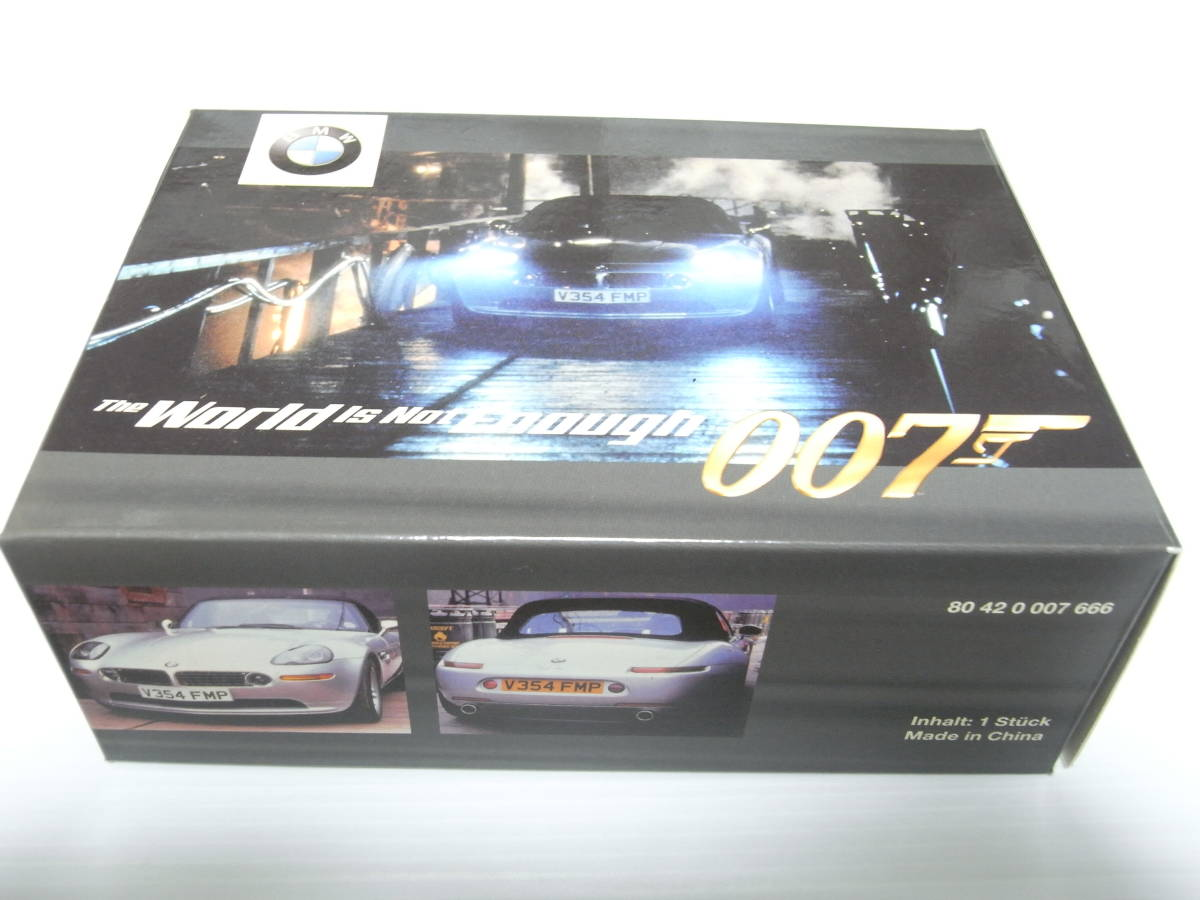 【BMW別注】 1/43 MINICHAMPS BMW Z8 James Bond Edition 1999 ジェームズボンド 007 The World Is Not Enough 007 ミニチャンプス_品番