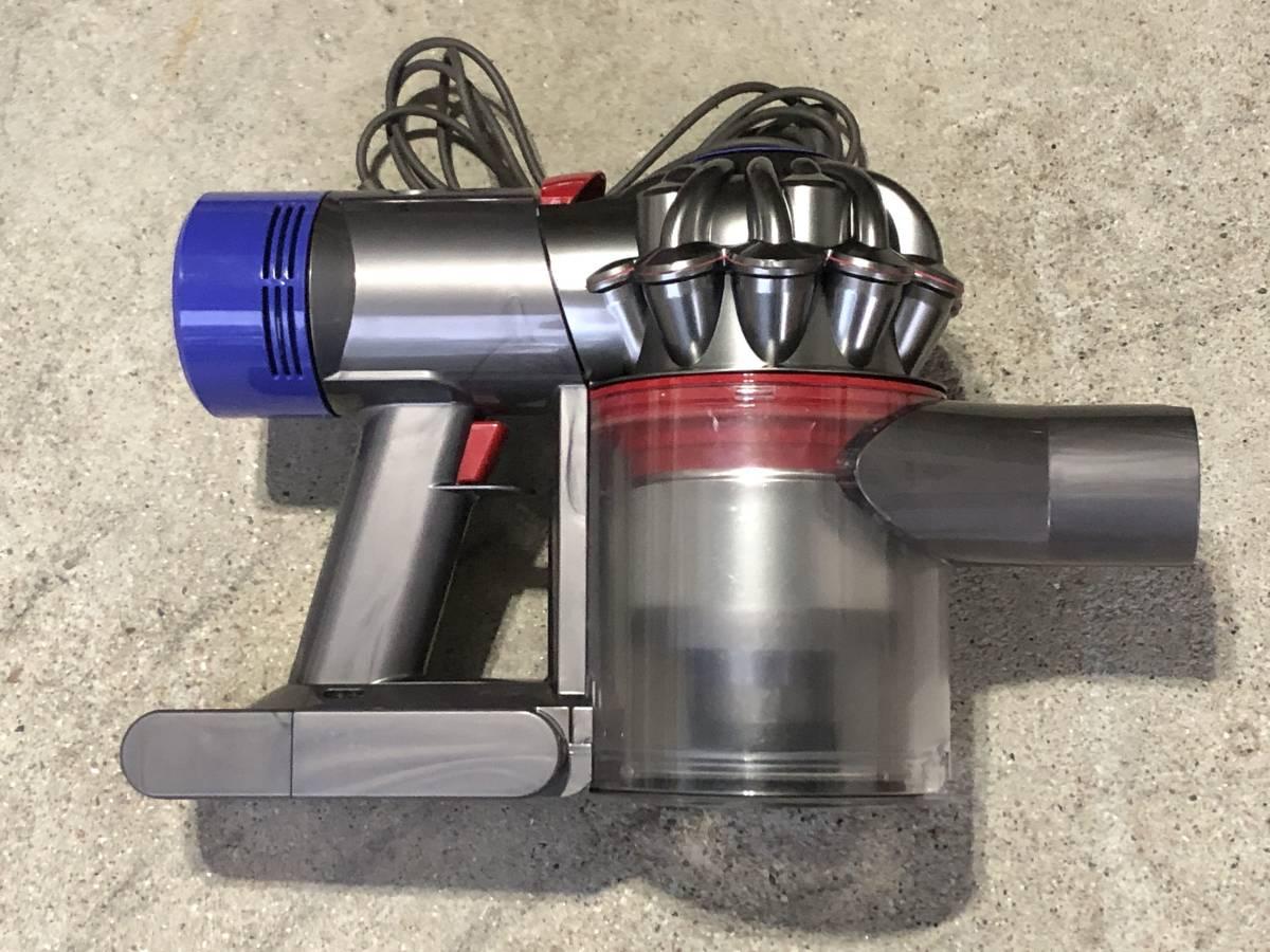 008 ほぼ新品 「アダプター多数有り」 dyson/ダイソン V8 SV10 コードレス掃除機 サイクロン ソフトローラーブラシ_画像5