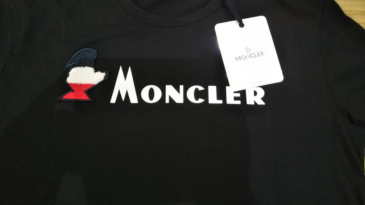 サイズXXL 新品同様 Moncler モンダックTシャツ ブラック 半袖Tシャツ _画像2