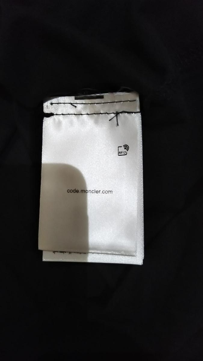 サイズXXL 新品同様 Moncler モンダックTシャツ ブラック 半袖Tシャツ _画像9