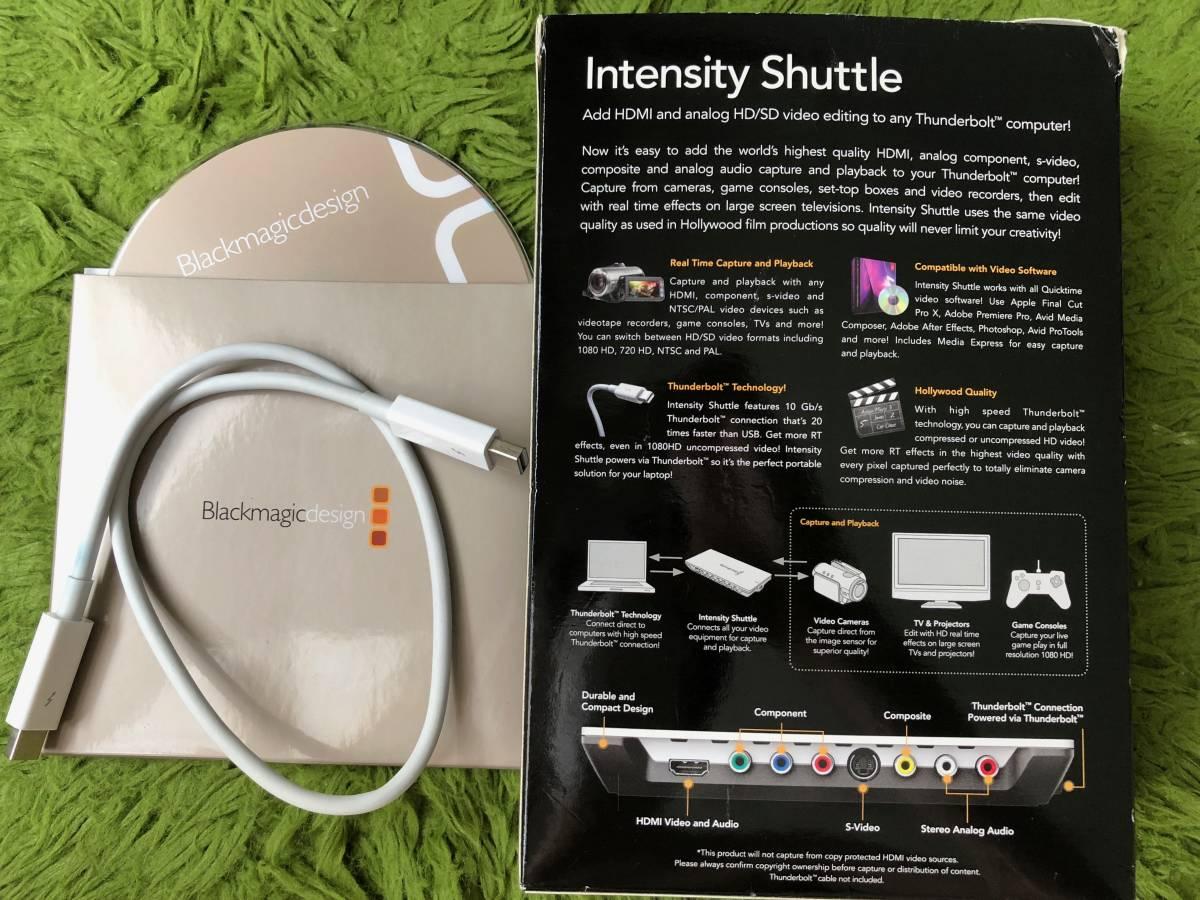 【美品】Intensity Shuttle for Thunderbolt 【Mac】_画像4