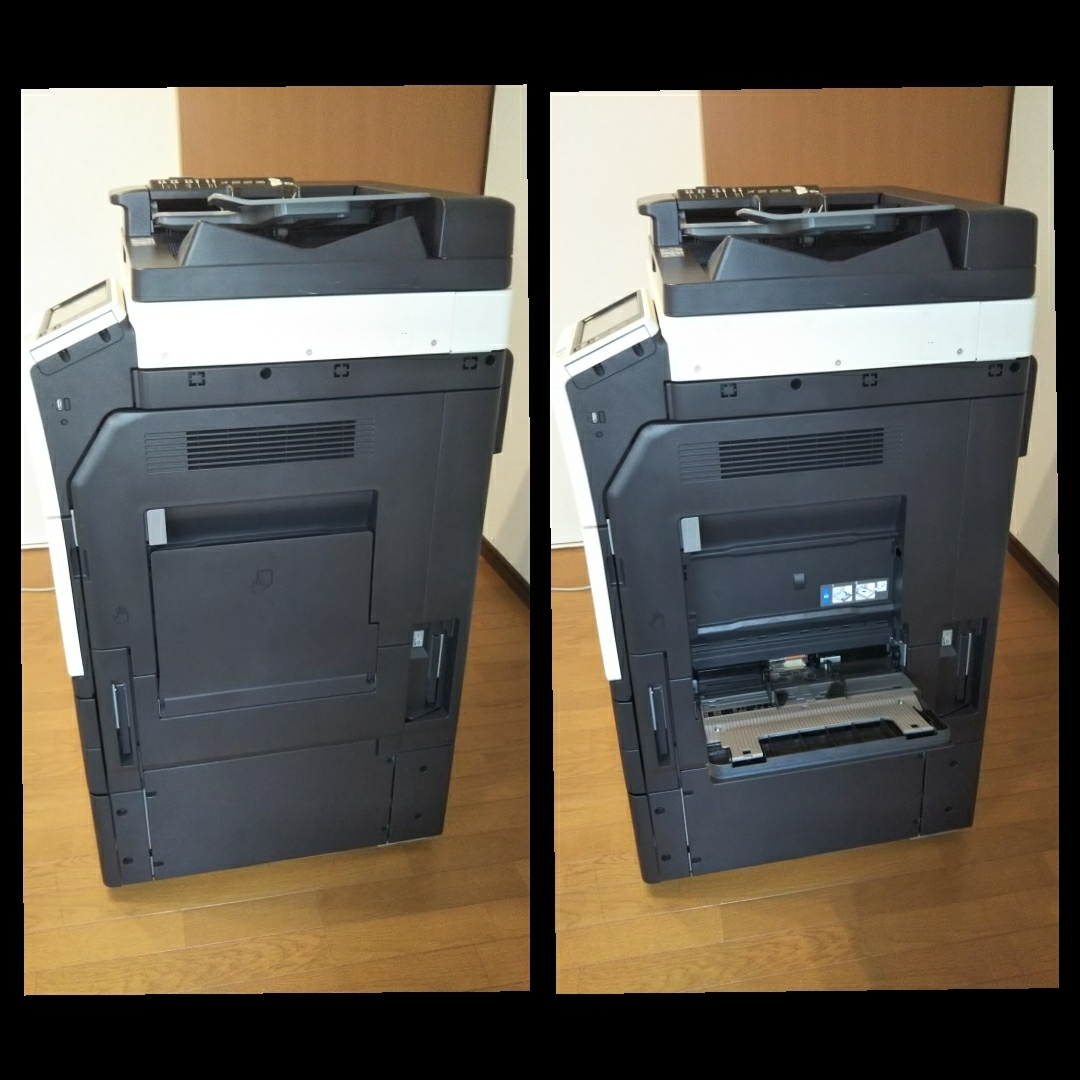 美品 中古品 コニカミノルタ/KONICA MINOLTA カラー複合機 フルカラーコピー機bizhub c227_画像3