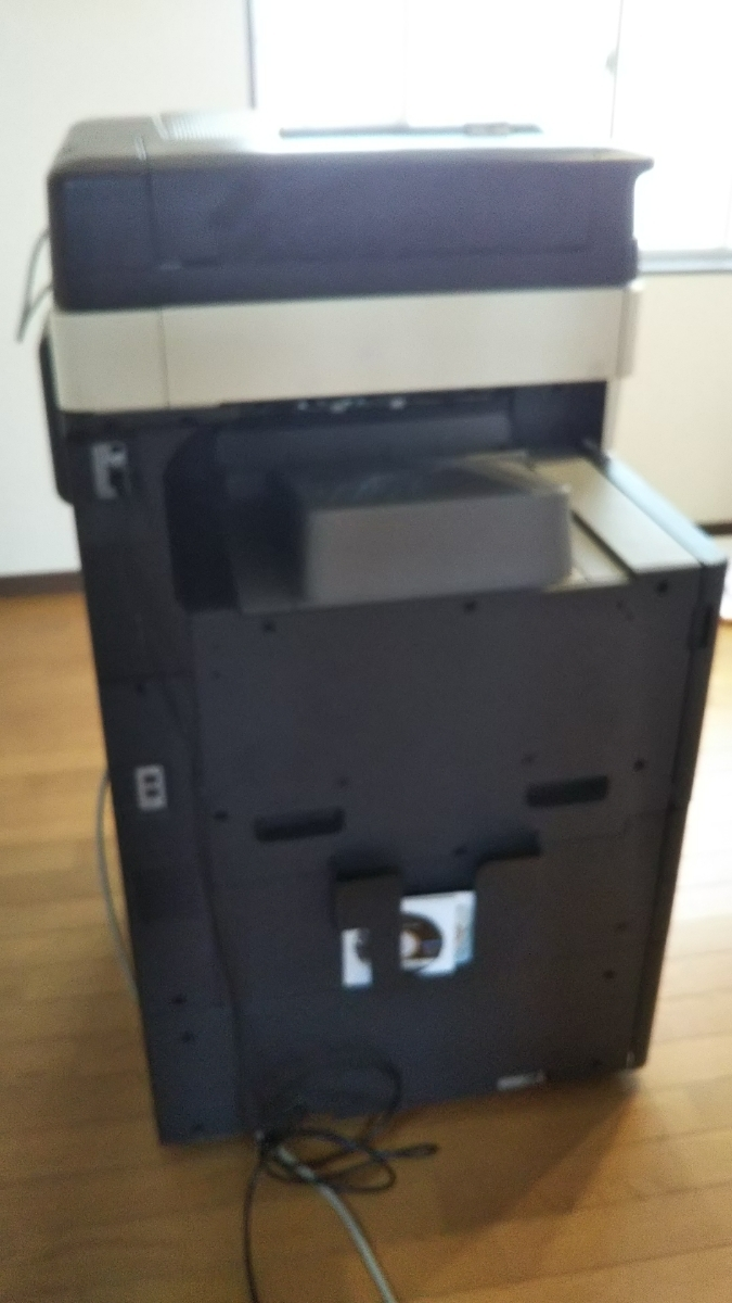 美品 中古品 コニカミノルタ/KONICA MINOLTA カラー複合機 フルカラーコピー機bizhub c227_画像4