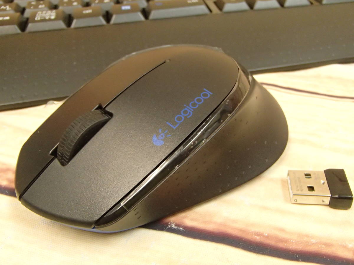 ◎Logicool ロジクール ワイヤレスコンボ WIRELESS COMBO MK345◎_画像5