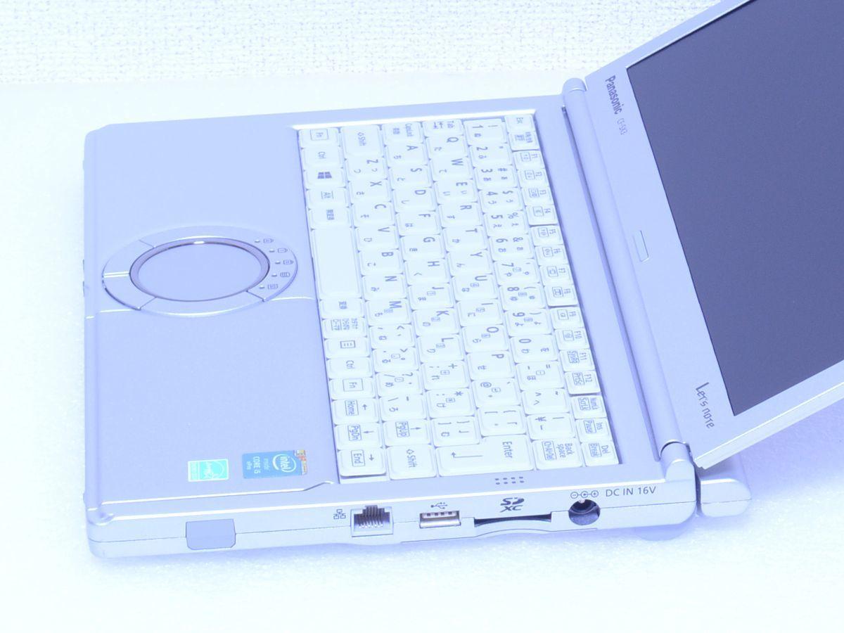 【超美品】Panasonic Let's note CF-SX3★Core i5 4300U 8GB SSD512GB★スーパーマルチ MS Office 2016 付 Bluetooth★Win10/7/8.1_画像4