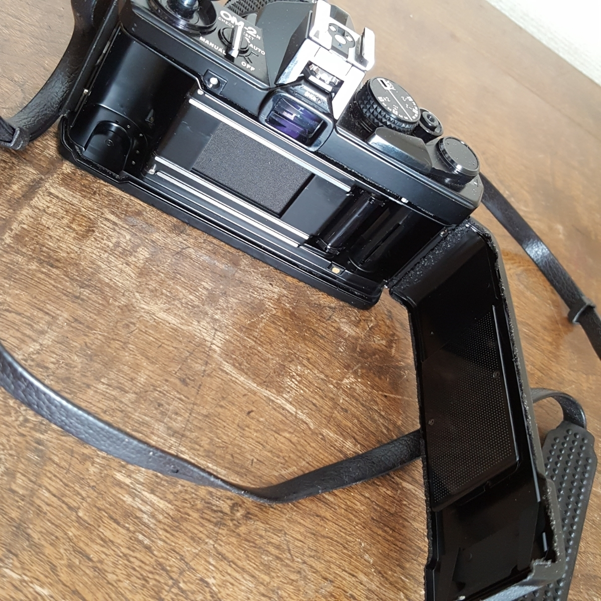 蔵出 当時物 カメラ その5 OLYMPUS OM-2N オリンパス レンズ OM-SYSTEM ZUIKO MC AUTO-S 1:1.4 f=50mm 1058965 1059884 昭和 レトロ 日本_画像9
