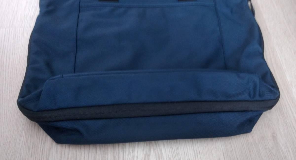 JAL限定品 ネイビー色 TUMI トゥミ バリスティックナイロン製エクスパンダブルトートバッグ 26296NVY2E_画像3