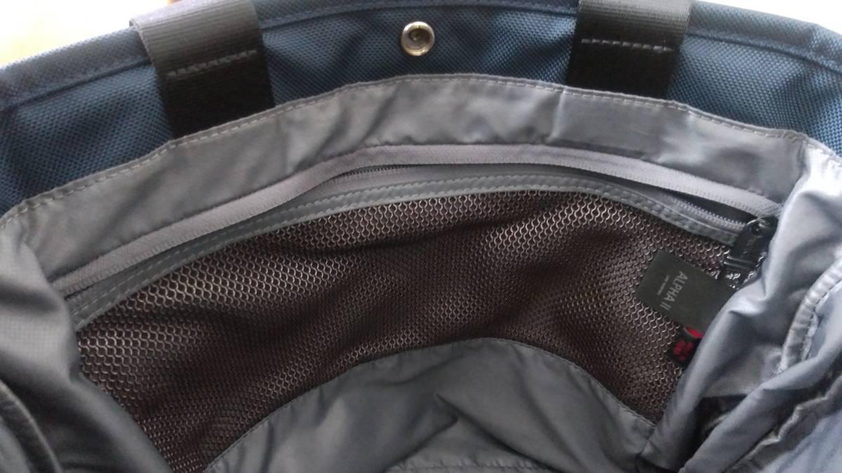 JAL限定品 ネイビー色 TUMI トゥミ バリスティックナイロン製エクスパンダブルトートバッグ 26296NVY2E_画像5