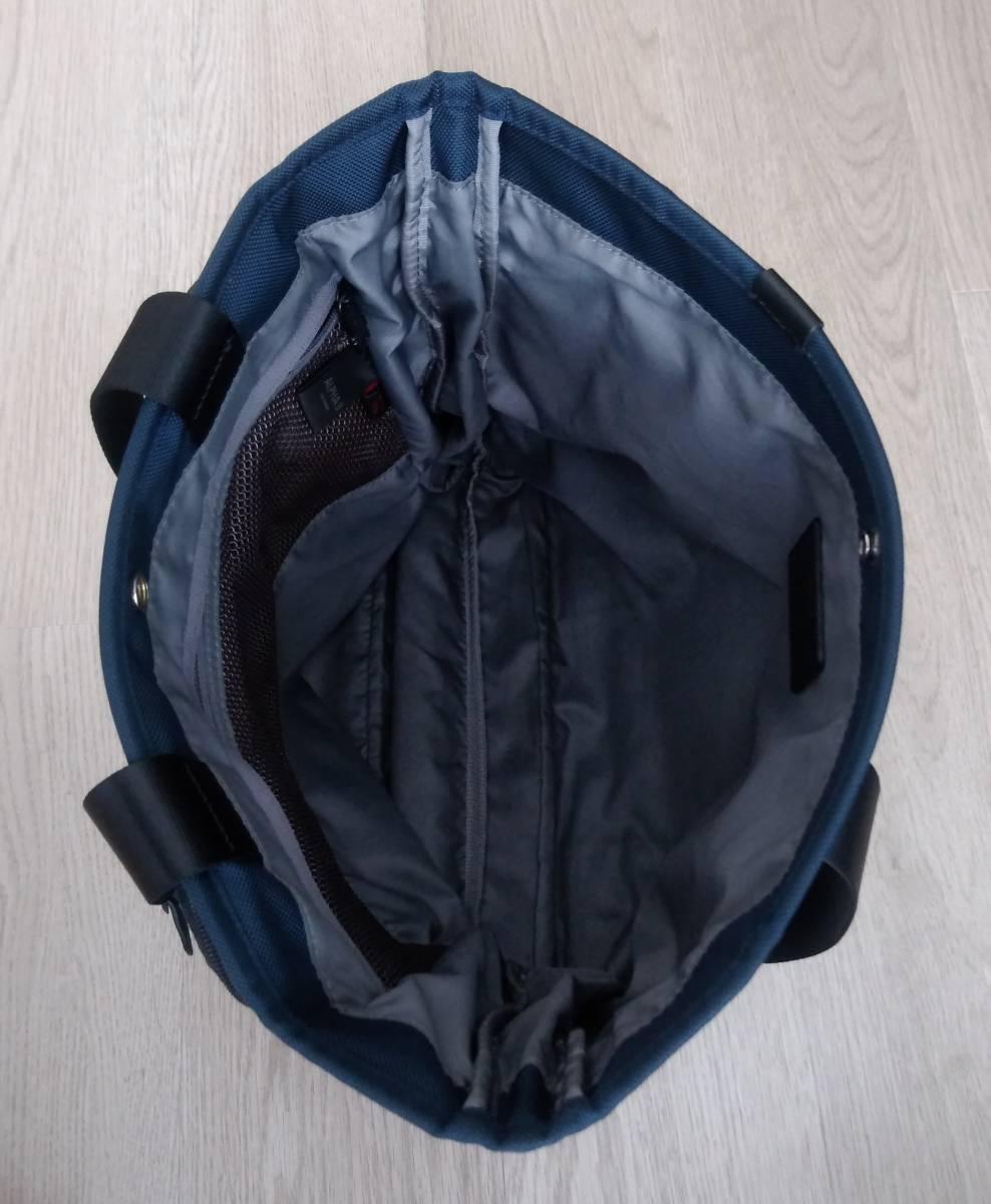 JAL限定品 ネイビー色 TUMI トゥミ バリスティックナイロン製エクスパンダブルトートバッグ 26296NVY2E_画像4