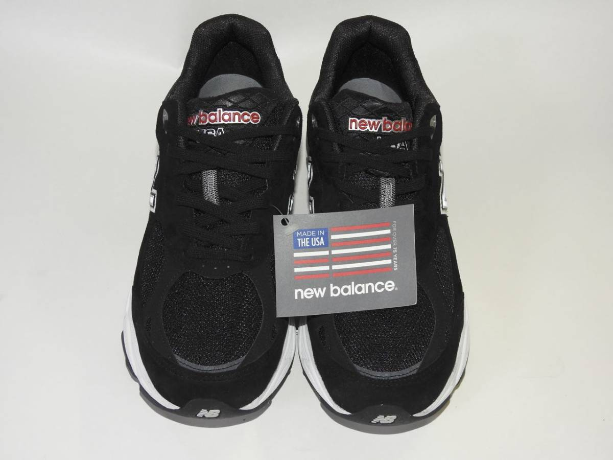 【New Balance / ニューバランス】 M990 BK3(BLACK / ブラック)US10 / 28.0cm USA製 新品未使用品