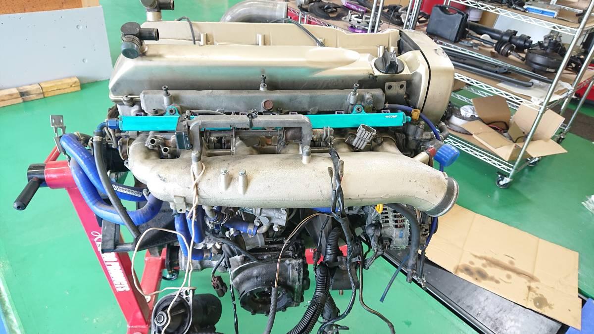 スカイラインGTR、RB26DETエンジン(ニュル・NUR)、HKS製Vプロ(同エンジン用)、サクションキット他_画像3
