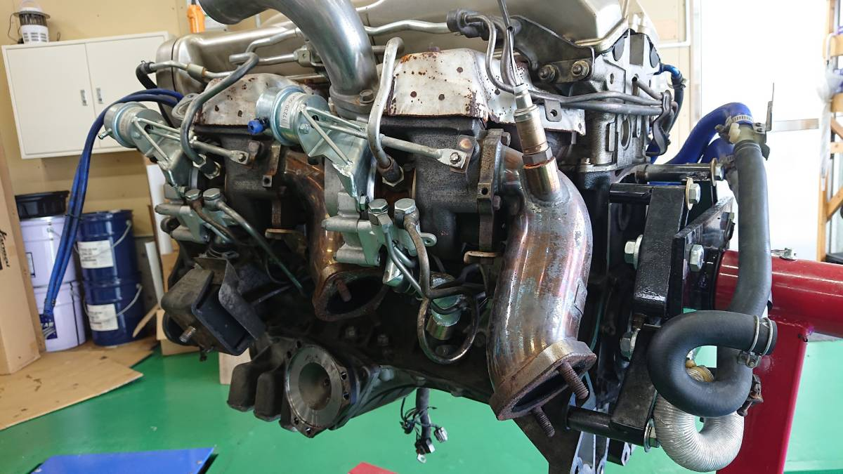 スカイラインGTR、RB26DETエンジン(ニュル・NUR)、HKS製Vプロ(同エンジン用)、サクションキット他_画像4