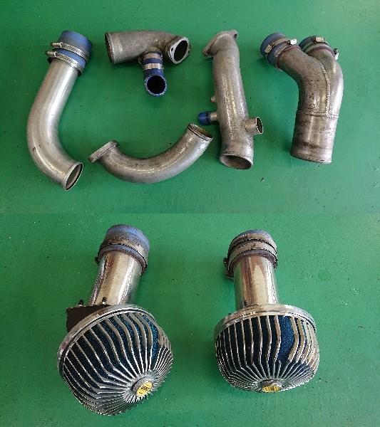 スカイラインGTR、RB26DETエンジン(ニュル・NUR)、HKS製Vプロ(同エンジン用)、サクションキット他_画像9