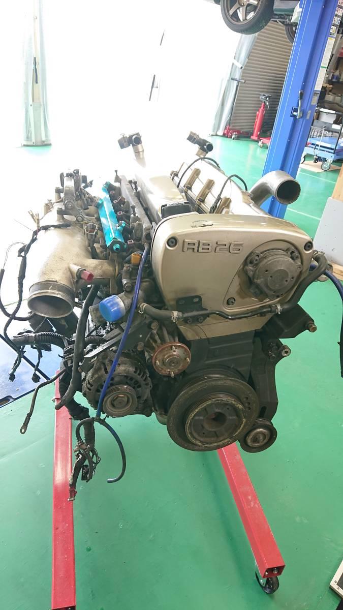 スカイラインGTR、RB26DETエンジン(ニュル・NUR)、HKS製Vプロ(同エンジン用)、サクションキット他