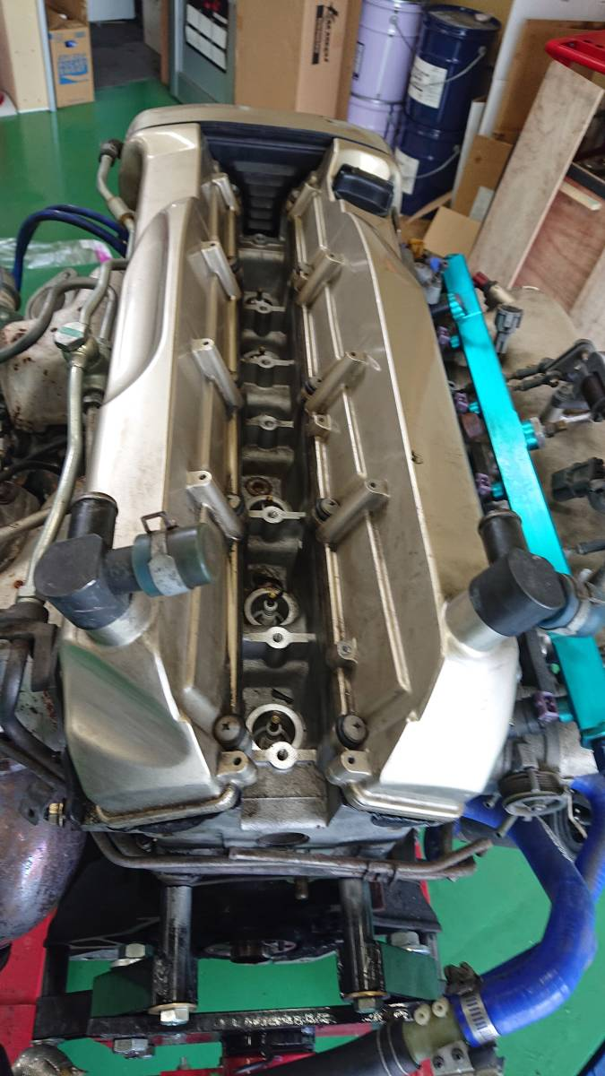 スカイラインGTR、RB26DETエンジン(ニュル・NUR)、HKS製Vプロ(同エンジン用)、サクションキット他_画像5