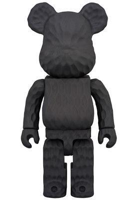 T569 Bearbrick Karimoku Fragment Design 400 % Carved Wooden Be@rbrick Medicom Toy ベアブリックカリモクメディコムトイ_画像4