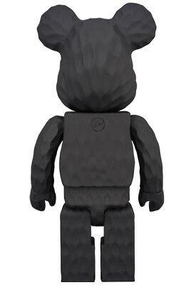 T569 Bearbrick Karimoku Fragment Design 400 % Carved Wooden Be@rbrick Medicom Toy ベアブリックカリモクメディコムトイ_画像5