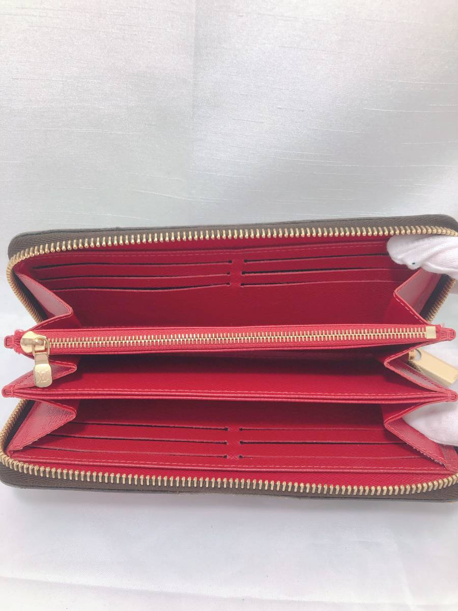 未使用品・ ルイヴィトン・Louis Vuitton・ 長財布 ・ポルトフォイユ サラ ニコラ・ジェスキエール ・ ステッカー 車 フラミンゴ ハンドル _画像5
