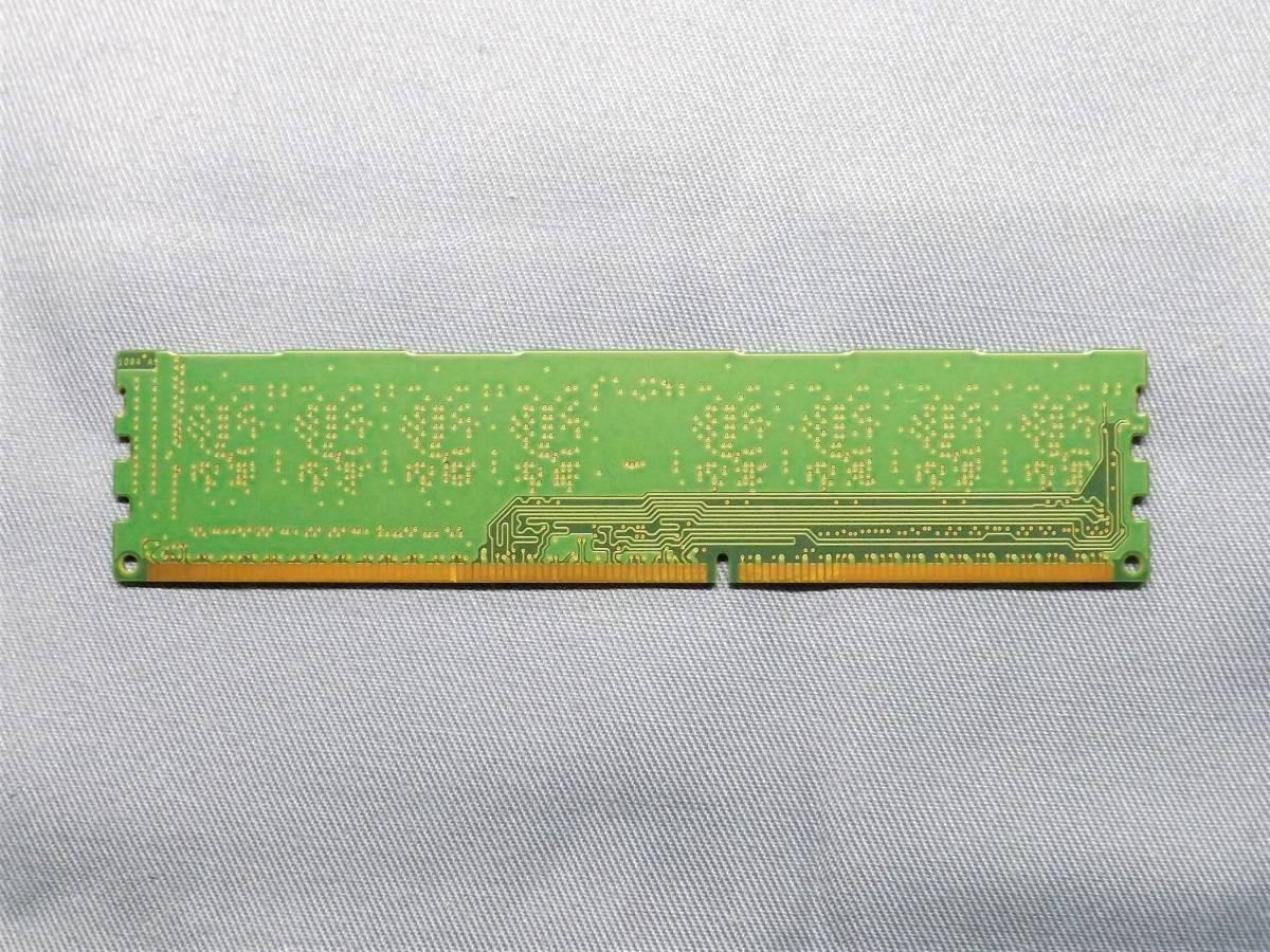 ☆ Micron 4GB×1枚 PC3-12800U /DDR3-1600 /デスクトップPC用_画像2