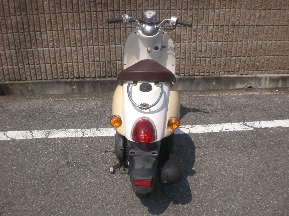 神戸市西区★SA26J 4サイクルビーノ★人気カラーのアイボリー_画像4