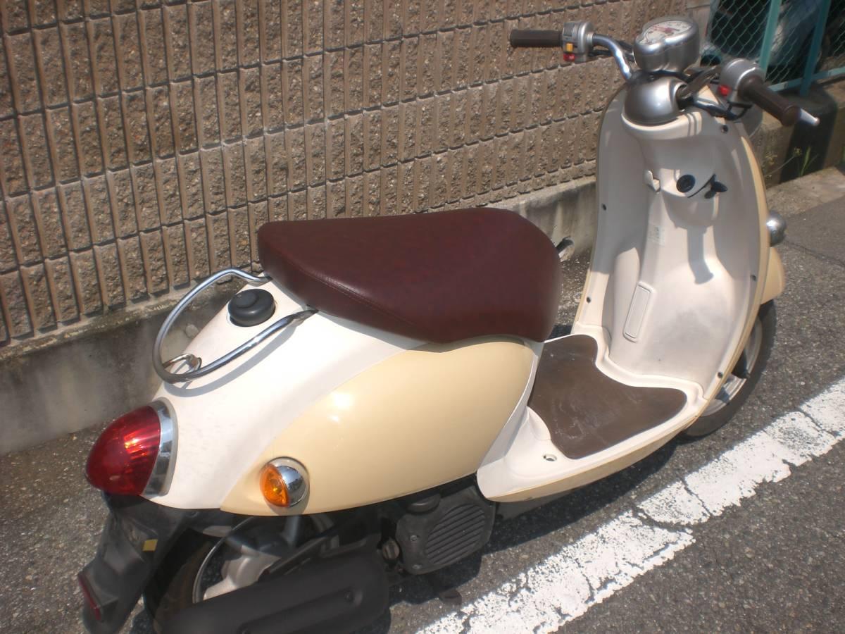 神戸市西区★SA26J 4サイクルビーノ★人気カラーのアイボリー_画像6