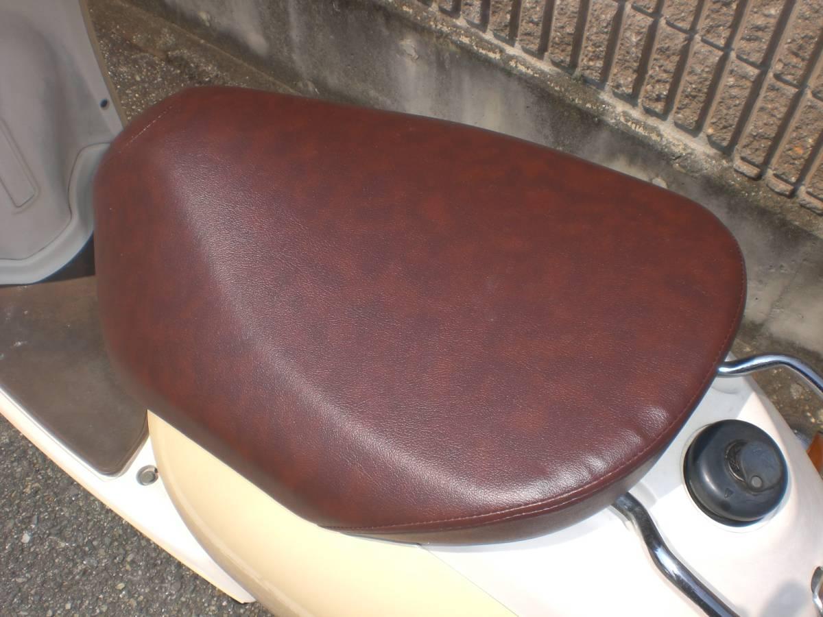 神戸市西区★SA26J 4サイクルビーノ★人気カラーのアイボリー_画像8