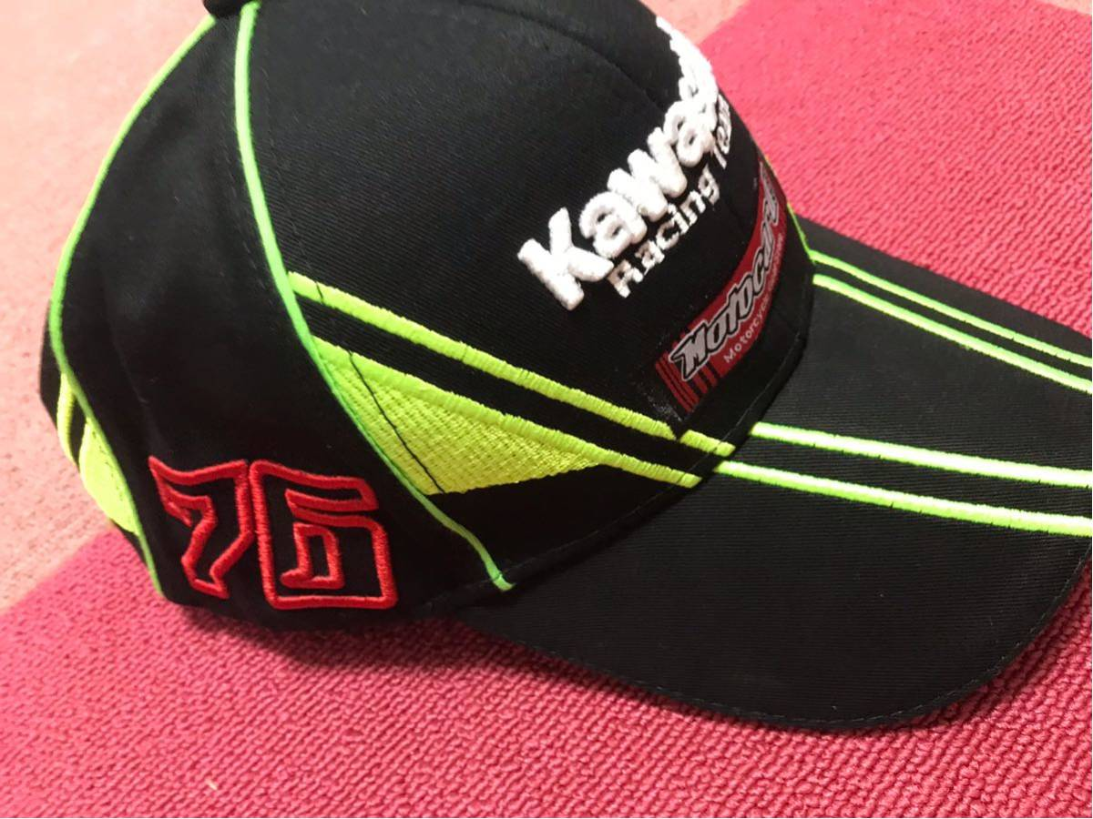 新品 即納 kawasaki カワサキ キャップ 帽子 ニンジャ Z1000 Z1 Z2 GPZ H2R SS750 KH500 FX ゼファーMotoGP TEAM SUPER BIKE _画像5