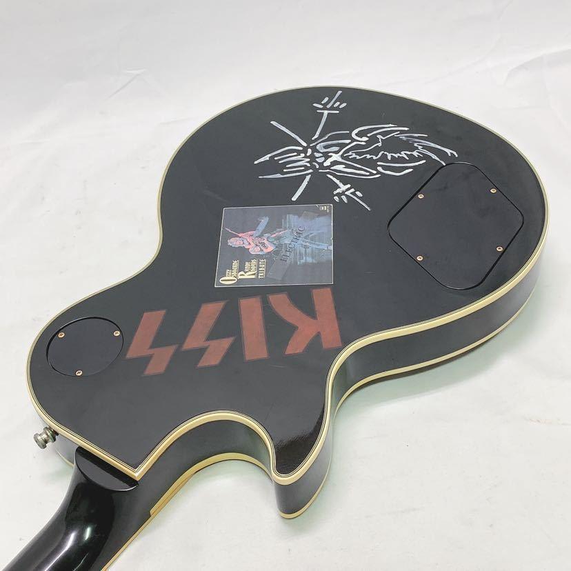 GIBSON Les paul custom ギブソン レスポールカスタム 1989年製 ビンテージ ブラック USA ハードケース付き R中0806_画像7