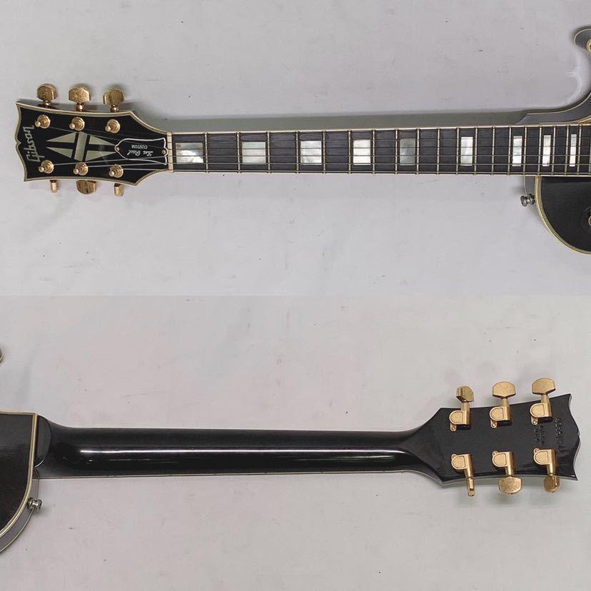 GIBSON Les paul custom ギブソン レスポールカスタム 1989年製 ビンテージ ブラック USA ハードケース付き R中0806_画像8
