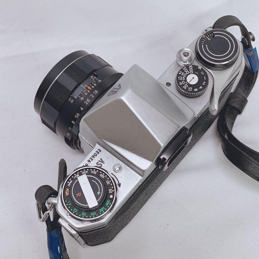 ASAHI PENTAX SV ペンタックス フィルムカメラ レンズ Super-Takumar 1:1.8/55 R尼0814_画像4