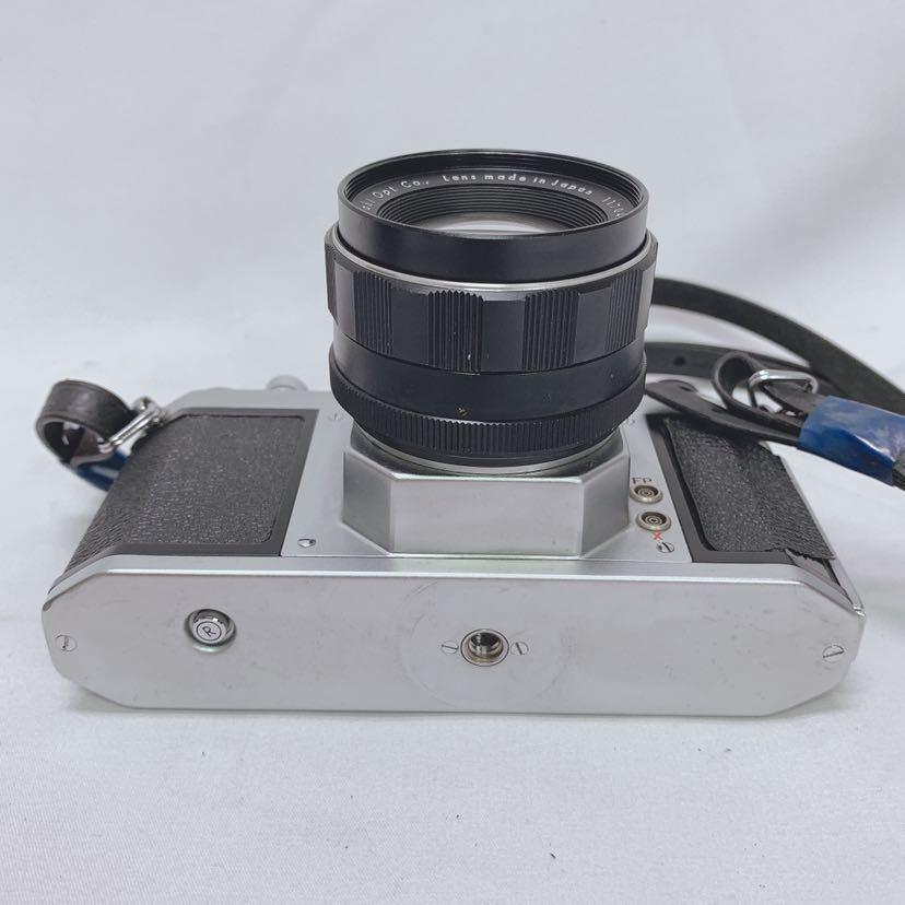 ASAHI PENTAX SV ペンタックス フィルムカメラ レンズ Super-Takumar 1:1.8/55 R尼0814_画像7
