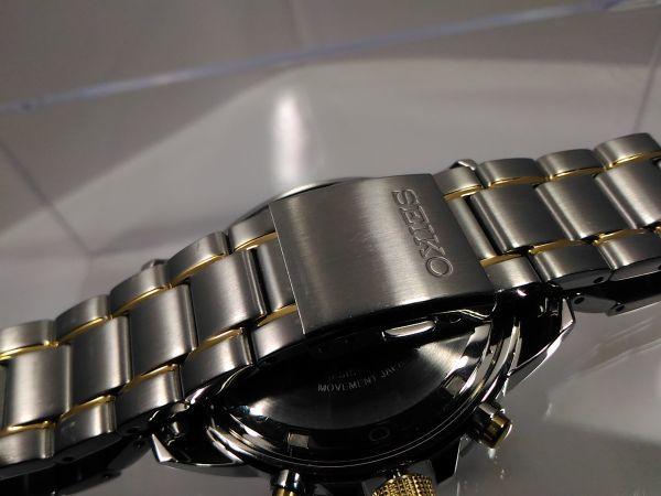 【SSC304 SEIKO ソーラー 1円】セイコー SOLAR クロノ メンズ 逆輸入 海外 モデル 腕時計 新品 100m アナログ 未発売 メンズ ウォッチ_画像9