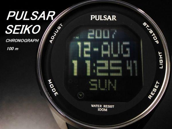 PULSAR クロノグラフ
