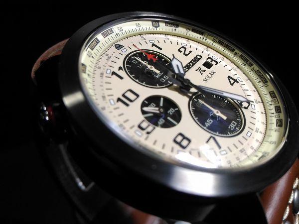 【1円 プロスペックス SOLAR】PROSPEX セイコー SEIKO ソーラー メンズ 逆輸入モデル 腕時計 クロノ 新品 防水100m 未発売 腕時計 ウォッチ_画像6