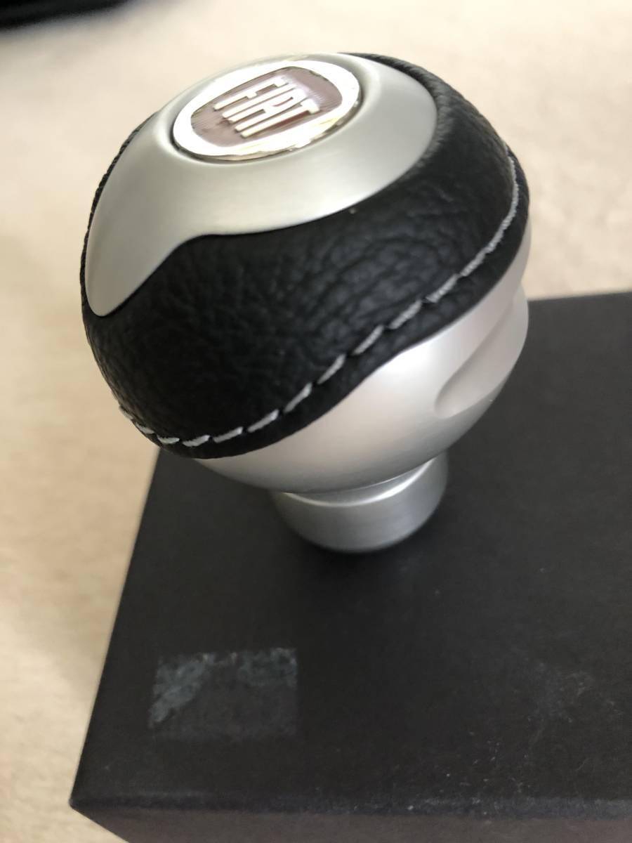 FIAT フィアット 500 チンクエチェント TUNE シフトノブ(マットシルバー)新品未使用!! TORINO BLACK社製_画像4