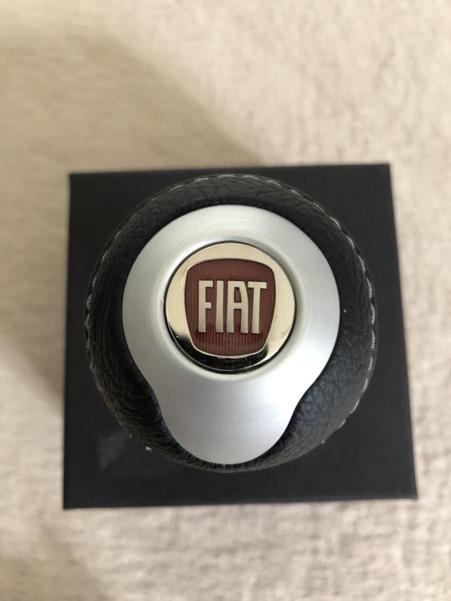 FIAT フィアット 500 チンクエチェント TUNE シフトノブ(マットシルバー)新品未使用!! TORINO BLACK社製_画像5