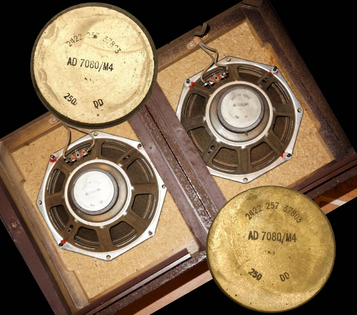 NECKERMANN 33751 mini-Box / PHILIPSの6インチユニット 美音_画像7