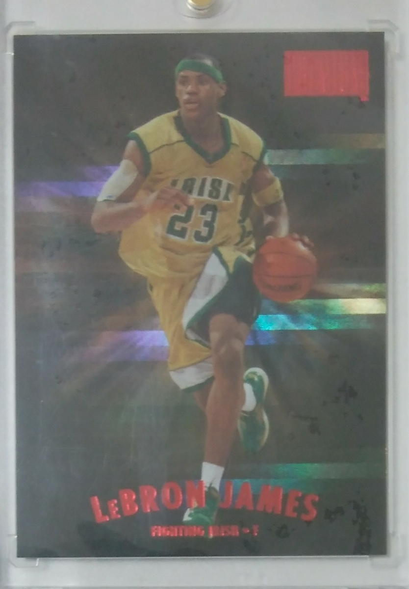 13-14 FLEER RETRO 97-98 Skybox Premium STAR RUBIES LeBRON JAMES/50