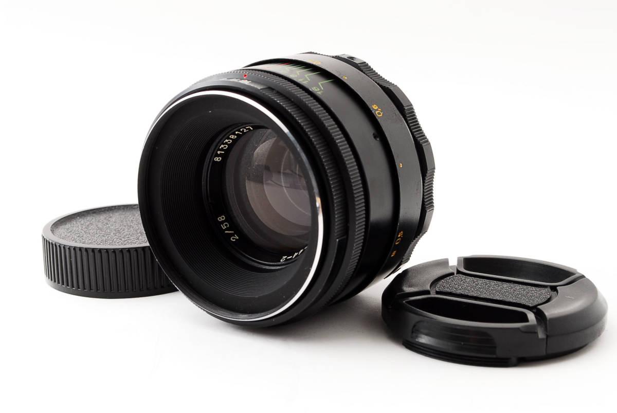 ★極上美品★ヘリオス HELIOS-44-2 58mm F2 M42 #3284_画像1