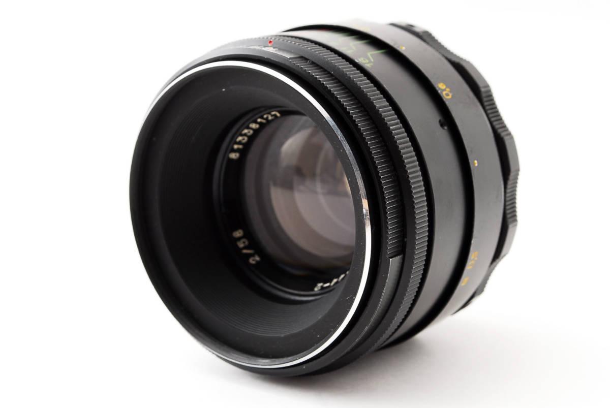 ★極上美品★ヘリオス HELIOS-44-2 58mm F2 M42 #3284_画像2