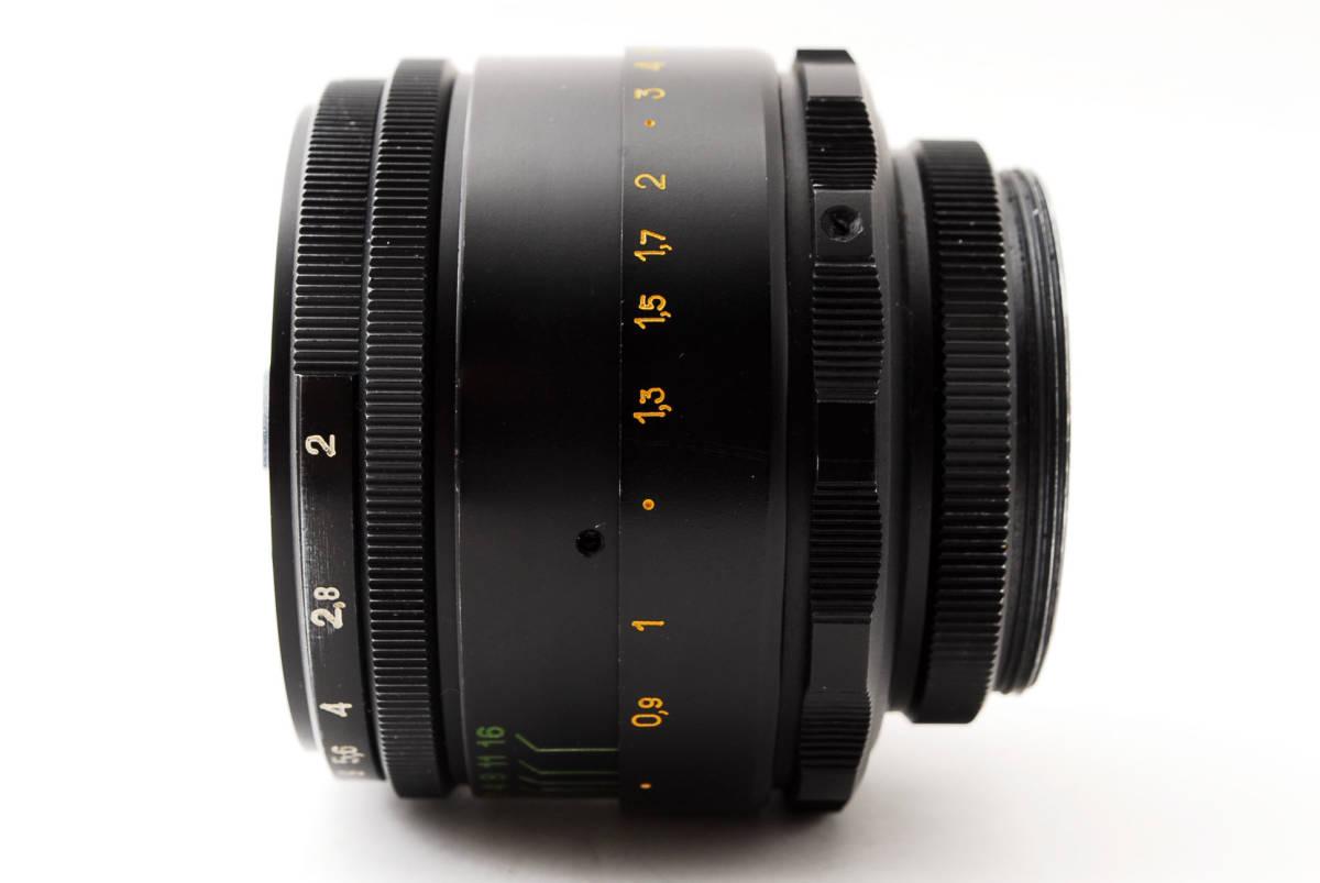 ★極上美品★ヘリオス HELIOS-44-2 58mm F2 M42 #3284_画像7