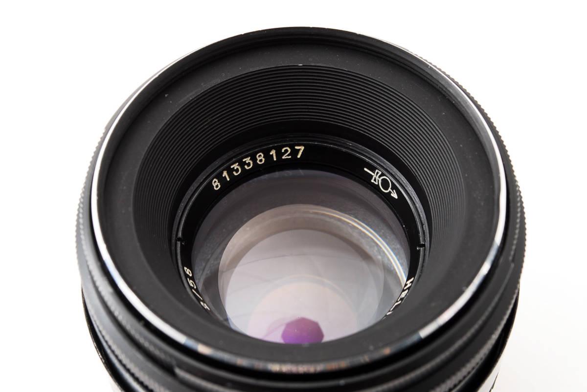 ★極上美品★ヘリオス HELIOS-44-2 58mm F2 M42 #3284_画像10