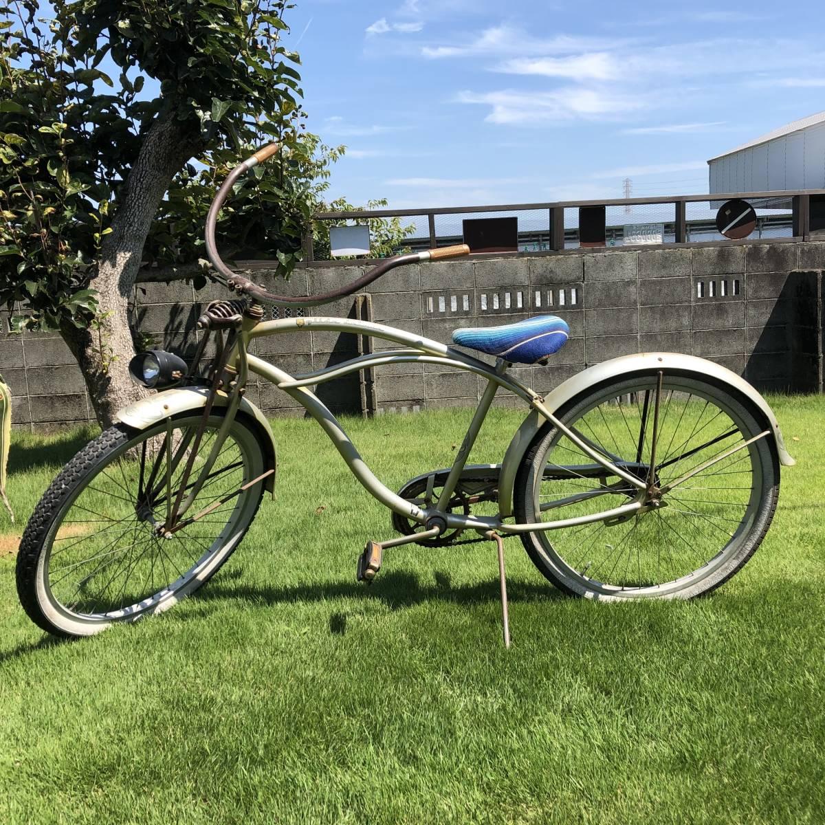 シュウィン ビンテージ 限定車 オリジナル ビーチクルーザー サーフィン 自転車 実働車 アメリカン ローチャリ