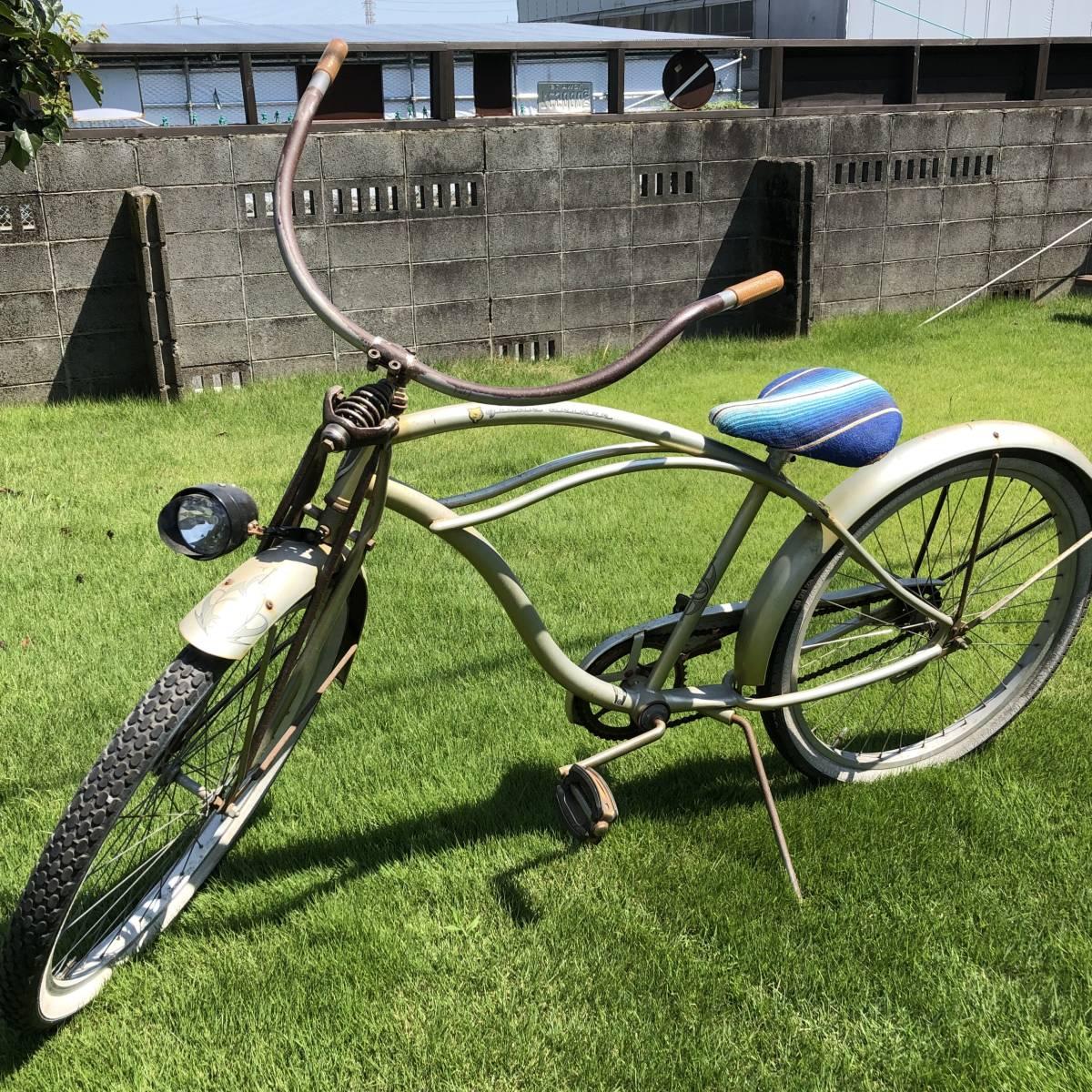 シュウィン ビンテージ 限定車 オリジナル ビーチクルーザー サーフィン 自転車 実働車 アメリカン ローチャリ _画像2