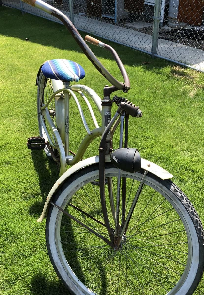 シュウィン ビンテージ 限定車 オリジナル ビーチクルーザー サーフィン 自転車 実働車 アメリカン ローチャリ _画像4