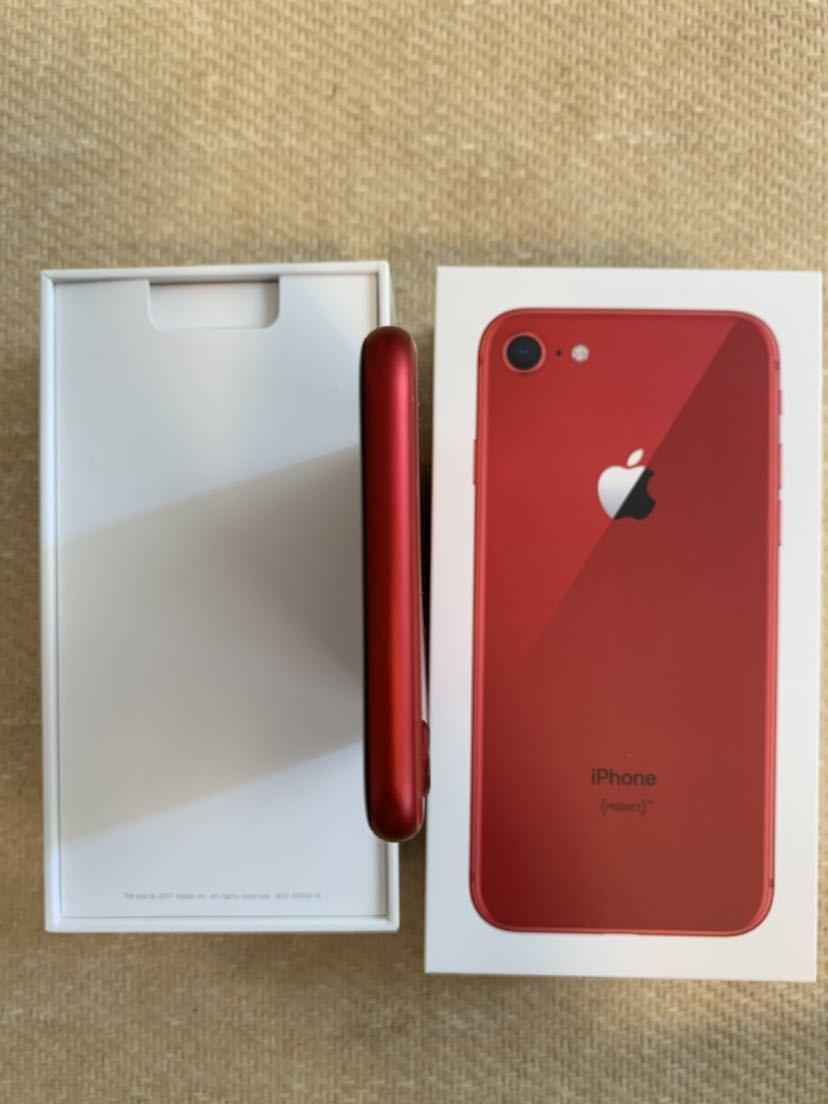 iPhone8 PRODUCT RED SIMロック解除 _画像6