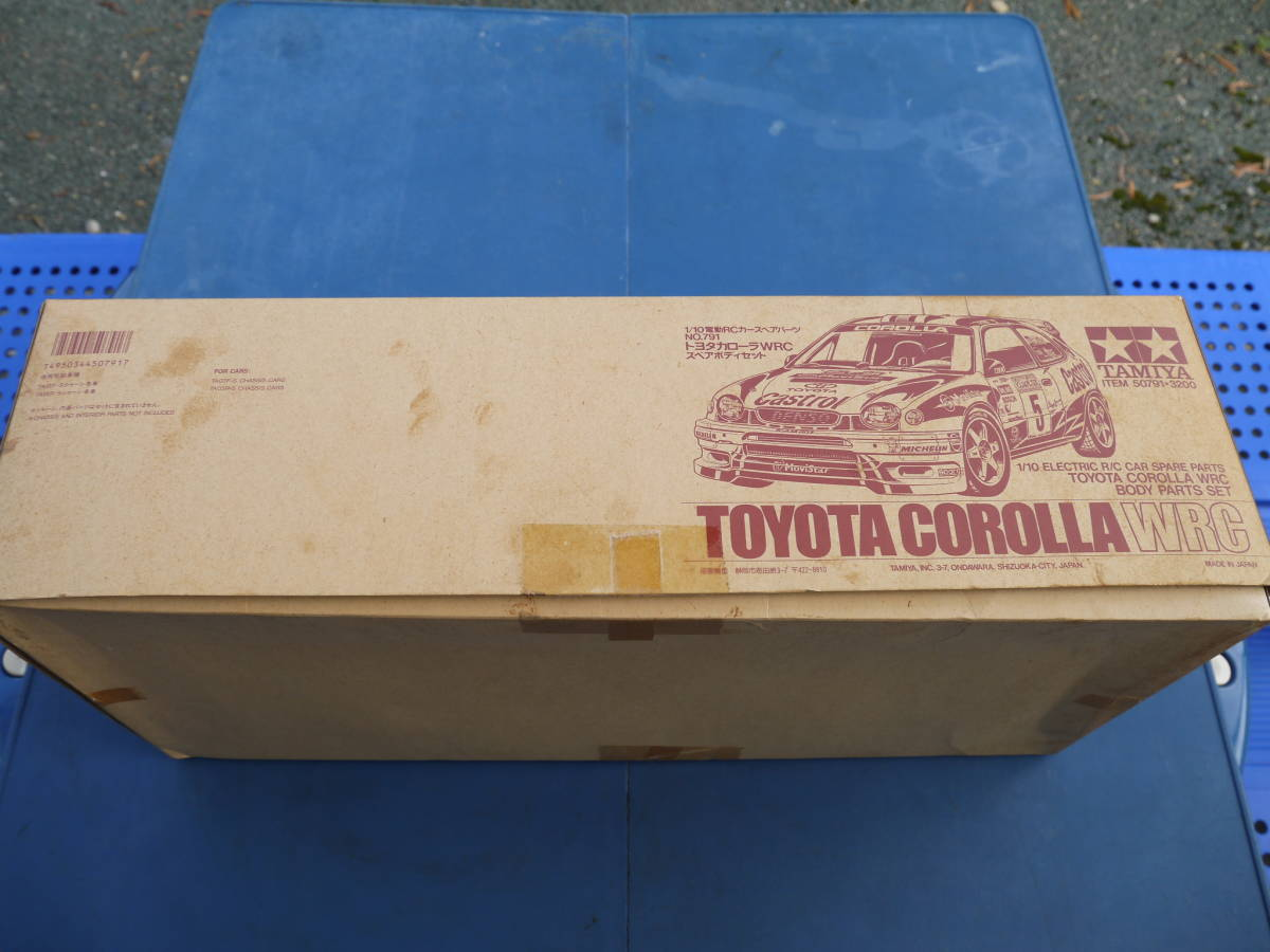 TAMIYAタミヤ TOYOTA トヨタ COROLLA カローラ WRC スペアボディセット 新品未使用_画像2