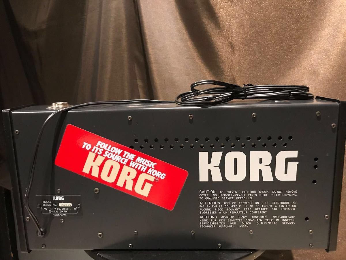 VC-10 KORG製ボコーダー マイク無し 完動品 超美品 国内初のボコーダー製品 超レアアイテム 滅多にない極上の状態 希少価値_画像4