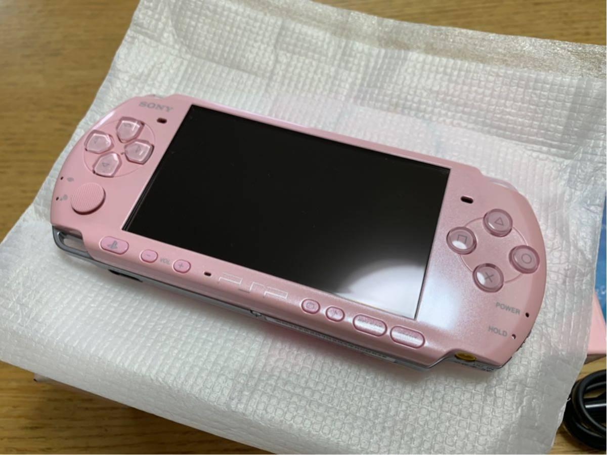 【美品】PSP3000☆ブロッサムピンク☆_画像3